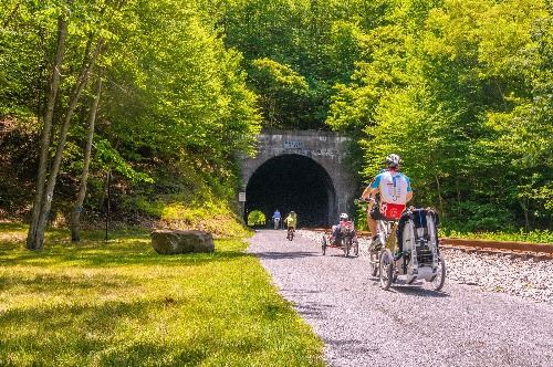 Great-Allegheny-Passage_Brush Tunnel Image