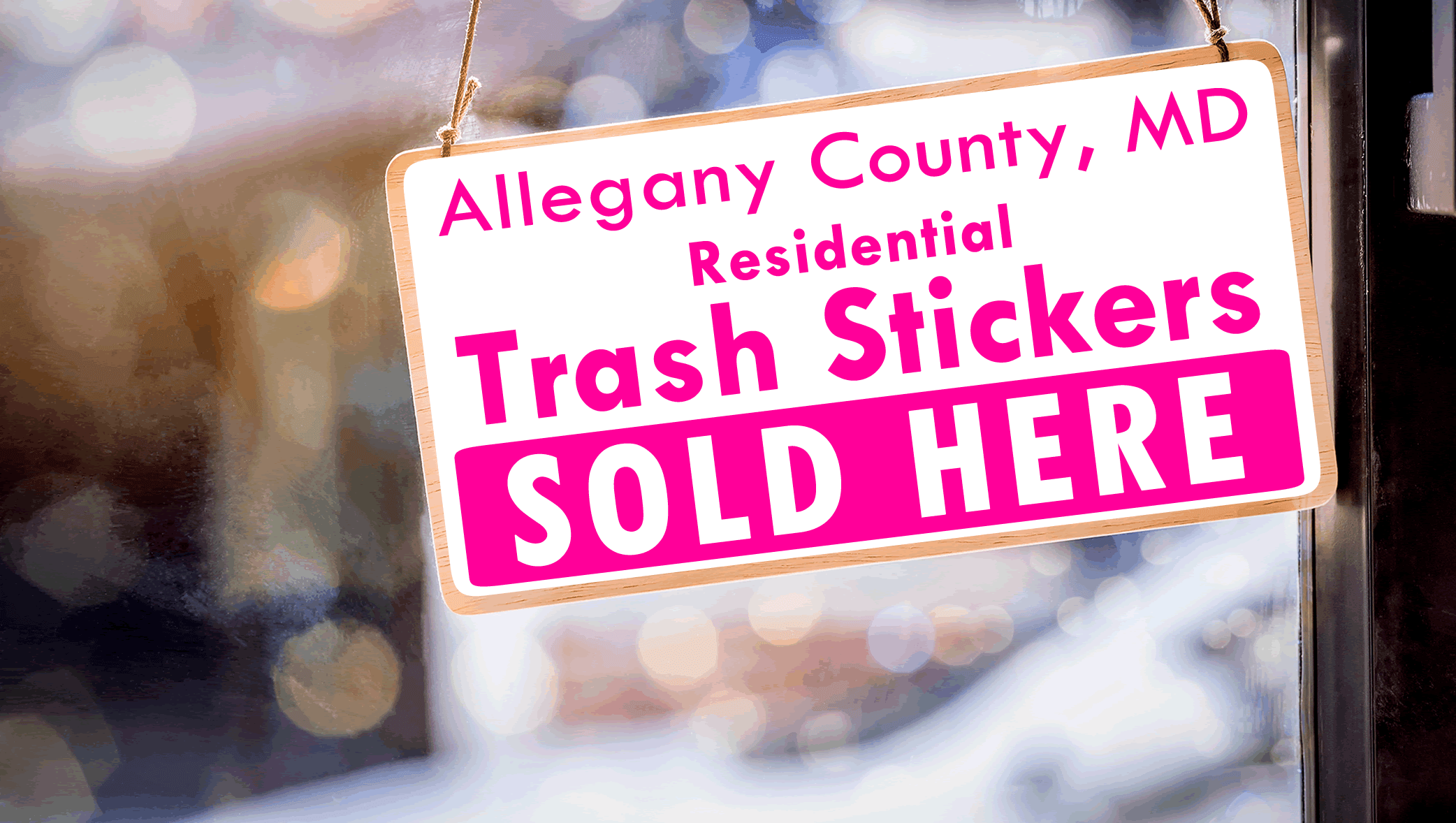 Trash Sticker Vendors Wanted_