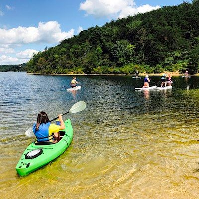 Rocky-Gap-State-Park-Kayaking-Lake-Habeeb